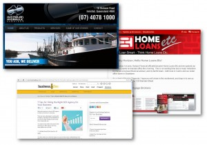 Online: Websites, eNewsletters, Articles and Blogs