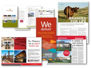 Print ads, articles, brochures, editorial and more